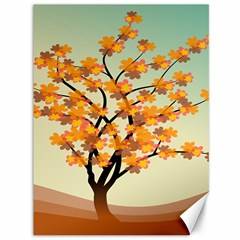 Branches Field Flora Forest Fruits Canvas 36  X 48   by Nexatart