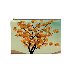 Branches Field Flora Forest Fruits Cosmetic Bag (medium)