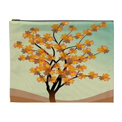 Branches Field Flora Forest Fruits Cosmetic Bag (xl) by Nexatart