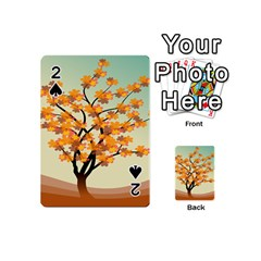 Branches Field Flora Forest Fruits Playing Cards 54 (mini)