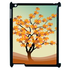 Branches Field Flora Forest Fruits Apple Ipad 2 Case (black) by Nexatart