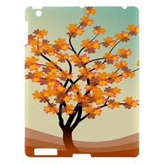 Branches Field Flora Forest Fruits Apple Ipad 3/4 Hardshell Case by Nexatart