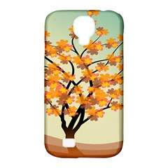 Branches Field Flora Forest Fruits Samsung Galaxy S4 Classic Hardshell Case (pc+silicone)
