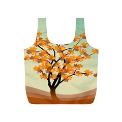 Branches Field Flora Forest Fruits Full Print Recycle Bags (s)  by Nexatart