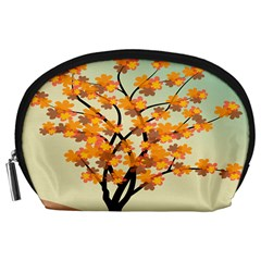 Branches Field Flora Forest Fruits Accessory Pouches (large)