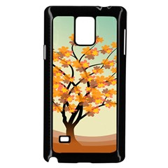 Branches Field Flora Forest Fruits Samsung Galaxy Note 4 Case (black) by Nexatart