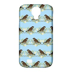 Sparrows Samsung Galaxy S4 Classic Hardshell Case (pc+silicone) by SuperPatterns