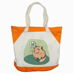 Cat Animal Fish Thinking Cute Pet Accent Tote Bag