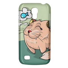 Cat Animal Fish Thinking Cute Pet Galaxy S4 Mini by Nexatart