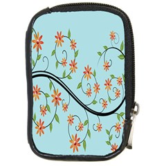 Branch Floral Flourish Flower Compact Camera Cases by Nexatart