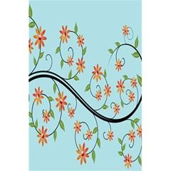 Branch Floral Flourish Flower 5 5  X 8 5  Notebooks by Nexatart