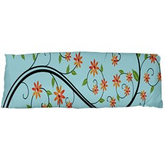 Branch Floral Flourish Flower Body Pillow Case Dakimakura (two Sides)