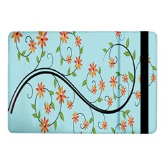 Branch Floral Flourish Flower Samsung Galaxy Tab Pro 10 1  Flip Case by Nexatart