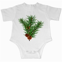 Branch Floral Green Nature Pine Infant Creepers