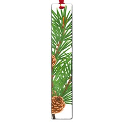 Branch Floral Green Nature Pine Large Book Marks by Nexatart