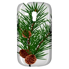 Branch Floral Green Nature Pine Galaxy S3 Mini by Nexatart