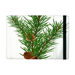 Branch Floral Green Nature Pine Ipad Mini 2 Flip Cases by Nexatart