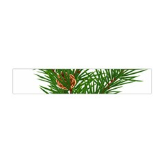 Branch Floral Green Nature Pine Flano Scarf (mini)