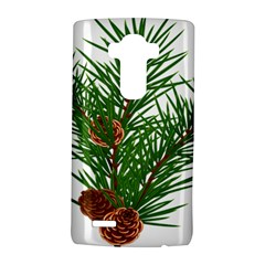 Branch Floral Green Nature Pine Lg G4 Hardshell Case by Nexatart