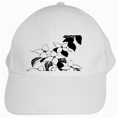 Ecological Floral Flowers Leaf White Cap by Nexatart