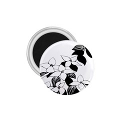 Ecological Floral Flowers Leaf 1 75  Magnets by Nexatart