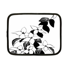 Ecological Floral Flowers Leaf Netbook Case (small)