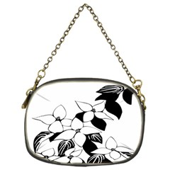Ecological Floral Flowers Leaf Chain Purses (two Sides)