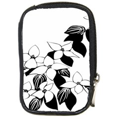 Ecological Floral Flowers Leaf Compact Camera Cases by Nexatart