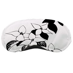 Ecological Floral Flowers Leaf Sleeping Masks