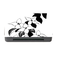 Ecological Floral Flowers Leaf Memory Card Reader With Cf
