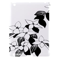 Ecological Floral Flowers Leaf Apple Ipad 3/4 Hardshell Case (compatible With Smart Cover)