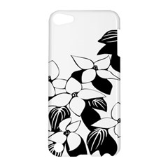 Ecological Floral Flowers Leaf Apple Ipod Touch 5 Hardshell Case by Nexatart