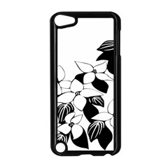 Ecological Floral Flowers Leaf Apple Ipod Touch 5 Case (black) by Nexatart