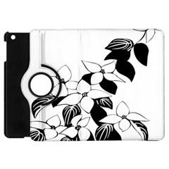 Ecological Floral Flowers Leaf Apple Ipad Mini Flip 360 Case