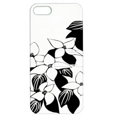 Ecological Floral Flowers Leaf Apple Iphone 5 Hardshell Case With Stand by Nexatart