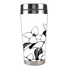 Ecological Floral Flowers Leaf Stainless Steel Travel Tumblers