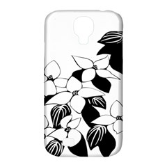 Ecological Floral Flowers Leaf Samsung Galaxy S4 Classic Hardshell Case (pc+silicone)