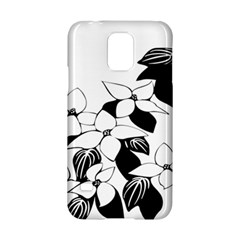 Ecological Floral Flowers Leaf Samsung Galaxy S5 Hardshell Case  by Nexatart