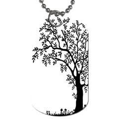 Flowers Landscape Nature Plant Dog Tag (one Side)
