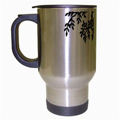Flowers Landscape Nature Plant Travel Mug (silver Gray) by Nexatart