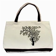 Flowers Landscape Nature Plant Basic Tote Bag
