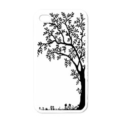 Flowers Landscape Nature Plant Apple Iphone 4 Case (white)