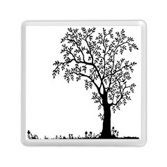 Flowers Landscape Nature Plant Memory Card Reader (square)  by Nexatart