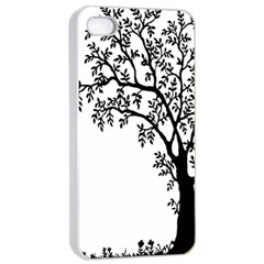 Flowers Landscape Nature Plant Apple Iphone 4/4s Seamless Case (white) by Nexatart