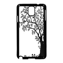 Flowers Landscape Nature Plant Samsung Galaxy Note 3 Neo Hardshell Case (black)
