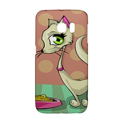 Cat Food Eating Breakfast Gourmet Galaxy S6 Edge