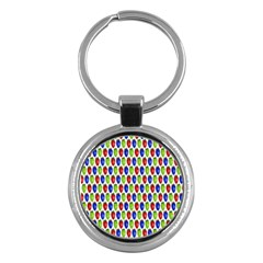 Colorful Shiny Eat Edible Food Key Chains (round)