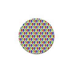 Colorful Shiny Eat Edible Food Golf Ball Marker (10 Pack)