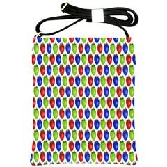 Colorful Shiny Eat Edible Food Shoulder Sling Bags by Nexatart
