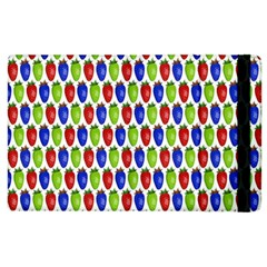 Colorful Shiny Eat Edible Food Apple Ipad 2 Flip Case by Nexatart